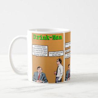 """""""Die Zeit des Getränk-Mans weg"""" von der Kaffeetasse"""
