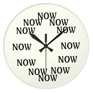 Die Zeit ist jetzt Uhr