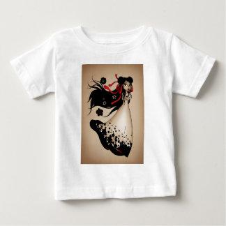 Die zerbrechliche Blume Baby T-shirt