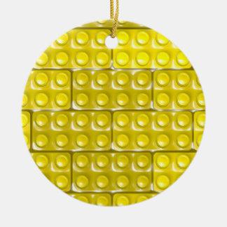 Die Ziegelsteine des Erbauers - Keramik Ornament