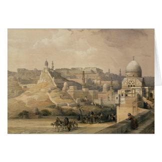 """Die Zitadelle von Kairo, """"von Ägypten und von Karte"""