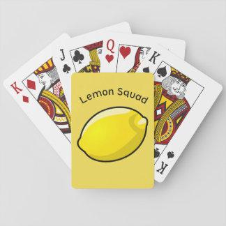 Die Zitronen-Gruppen besitzen sehr Spielkarten