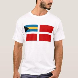 Die zivile Fahne Bahamas T-Shirt