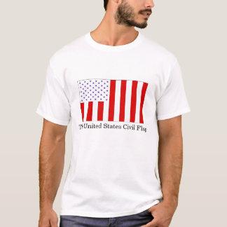 Die zivile Flagge Vereinigter Staaten T-Shirt