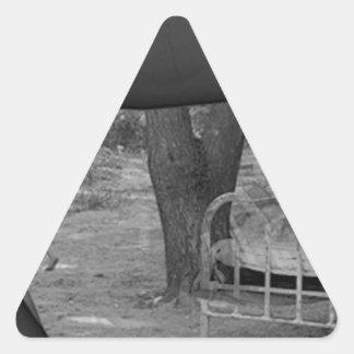 Die Zukunft Dreieckiger Aufkleber