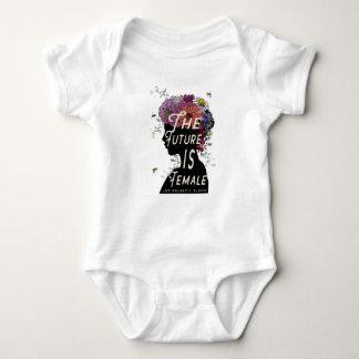 Die Zukunft ist - Babybodysuit weiblich Baby Strampler