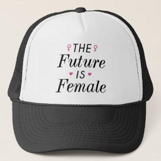 Die Zukunft ist weiblich Truckerkappe