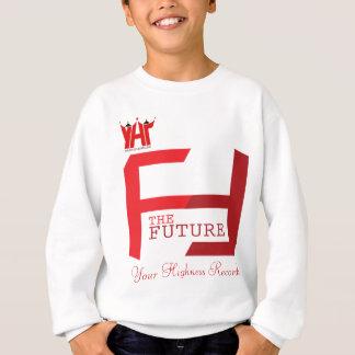 Die Zukunft scherzt männlichen Pullover