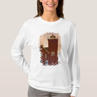 Die zwei Hafen-Leuchtturm-übersehenachat-Bucht T-Shirt