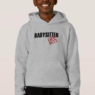 Dienstfreier Babysitter Hoodie