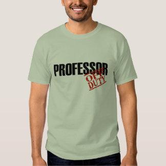 DIENSTFREIER PROFESSOR T-Shirts