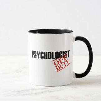 DIENSTFREIER PSYCHOLOGE TASSE