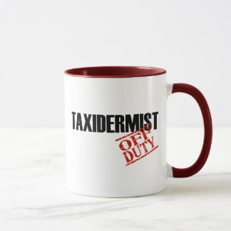 DIENSTFREIER TAXIDERMIST TASSE