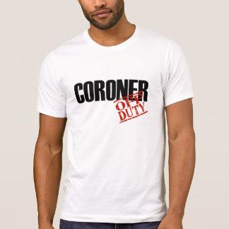 Dienstfreier Untersuchungsrichter T-Shirt