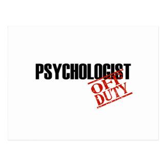 DIENSTFREIES PSYCHOLOGE-LICHT POSTKARTE