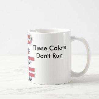 Diese Farben laufen nicht Kaffeetasse