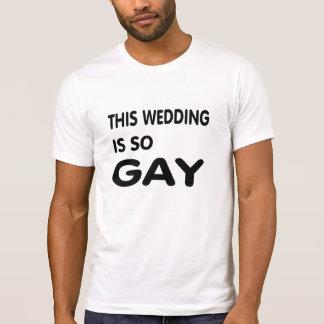 Diese Hochzeit ist so homosexuell T-Shirt