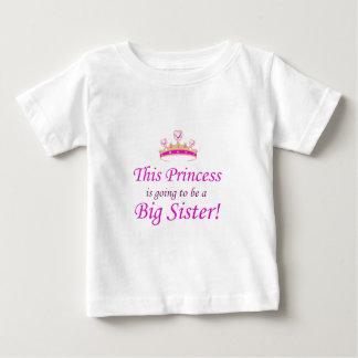 Diese kleine Prinzessin wird eine große Schwester Baby T-shirt