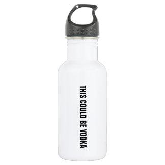Diese konnte Wodkawasserflasche sein Trinkflaschen