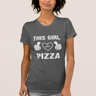 DIESE MÄDCHEN-LIEBE-PIZZA T-Shirt