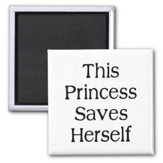 Diese Prinzessin Saves Quadratischer Magnet