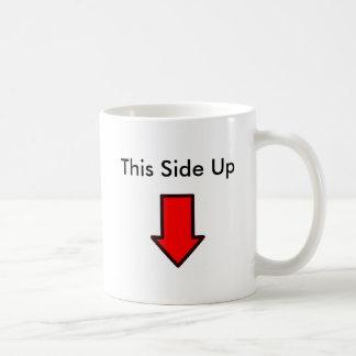 Diese Seite oben Kaffeetasse