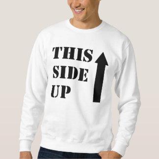 Diese Seite oben Sweatshirt