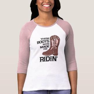 Diese Stiefel wurden für Ridin Damen 3/4 Hülse T-Shirt