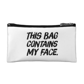 Diese Tasche enthält mein Gesicht