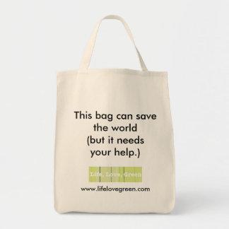 Diese Tasche kann die Welt retten…