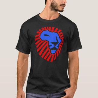Diese Zeit für Löwe-Kopf Afrikas Waka-waka T-Shirt