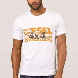 Diesel-T - Shirt des Grunge-4x4