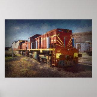 Diesellokomotive Poster