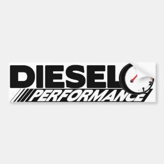 DieselPreformance Autoaufkleber