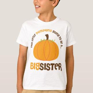 Dieser kleine Kürbis wird eine große Schwester T-Shirt