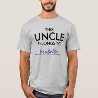Dieser Onkel Belongs To ........ T-Shirt