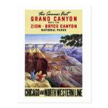 Dieser Sommer-Besuchs-Grand Canyon Postkarte