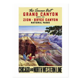 Dieser Sommer-Besuchs-Grand Canyon Postkarten