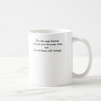 Dieser Standort benutzt framesAnd, dennoch tut Ihr Kaffeetasse