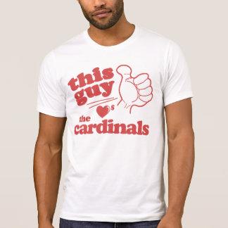 Dieser Typ-Lieben die Kardinäle T-Shirt