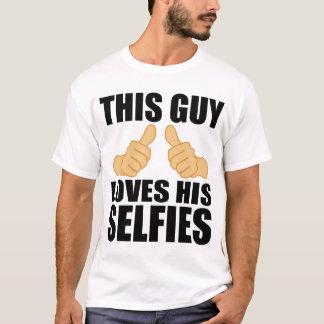 DIESER TYP-LIEBEN SEIN SELFIES T-Shirt