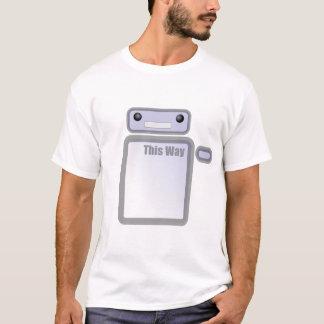 Dieser Weisen-Roboter T-Shirt