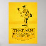 Dieses Arm ~ Ihr Land benötigt es Poster