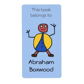 Dieses Buch gehört Name-Stock-Leuten Versandetiketten