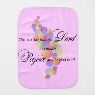 Dieses ist ein Tag, den der Lord gemacht hat Baby Spucktuch