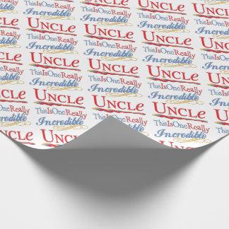 Dieses ist ein wirklich unglaublicher Onkel Gift Geschenkpapier