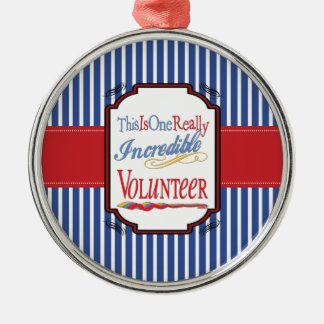 Dieses ist ein wirklich unglaubliches freiwilliges silbernes ornament