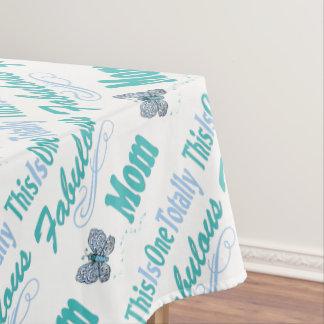 Dieses ist eine total fabelhafte Mamma Tischdecke