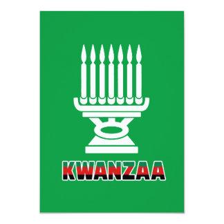 Dieses ist Feiertags-Party Einladungen Kwanzaas