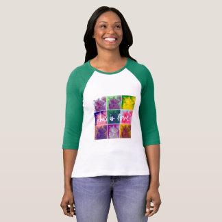 Dieses ist Liebe-T-Shirt mit Opie u. Annie T-Shirt